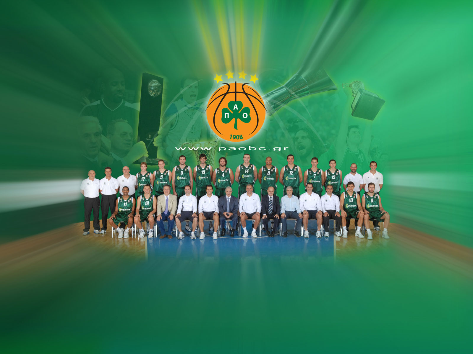 Panathinaikos-2009-Team-Wallpaper