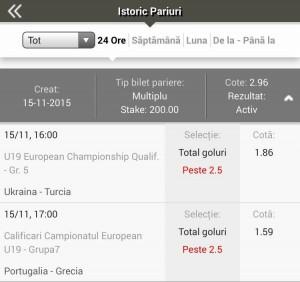 Win El greco duminica 15 nov