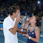 Jerzy Janowicz cu Aga Radwanska , Hopman Cup