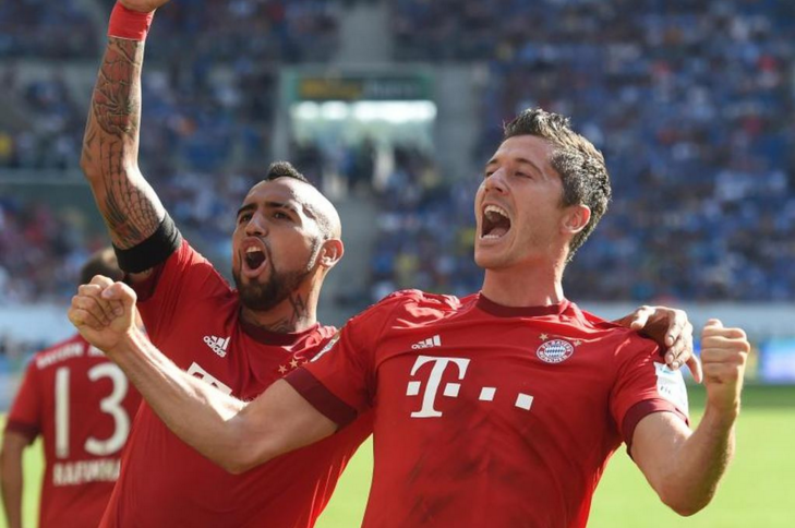 Bayern Munchen vs TSG Hoffenheim
