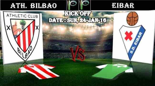 Athletic-Bilbao-vs-Eibar-24.01.2016-Predictions