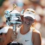 Maria Sharapova, campioana in 2008 la Australian Open