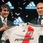 Enzo Francescoli si fanul sau, Zinedine Zidane