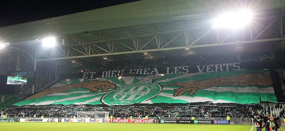 stadionul Geoffroy-Guichard, coregrafie superba