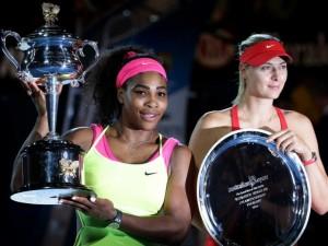 Serena si Masha la festivitatea de premiere de anul trecut