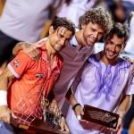 Ferrer& Fognini, impreuna cu fostul numar 1 ATP Gustavo Kuerten
