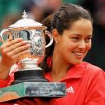 Ana Ivanovic campioana in 2008 la Roland Garros
