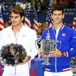 US OPEN 2015 , Finalist Roger Federer