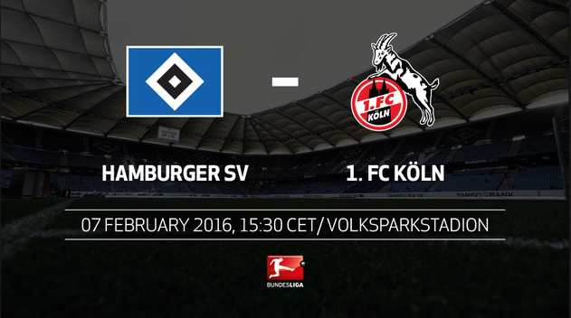 Hamburger SV vs FC. Koln