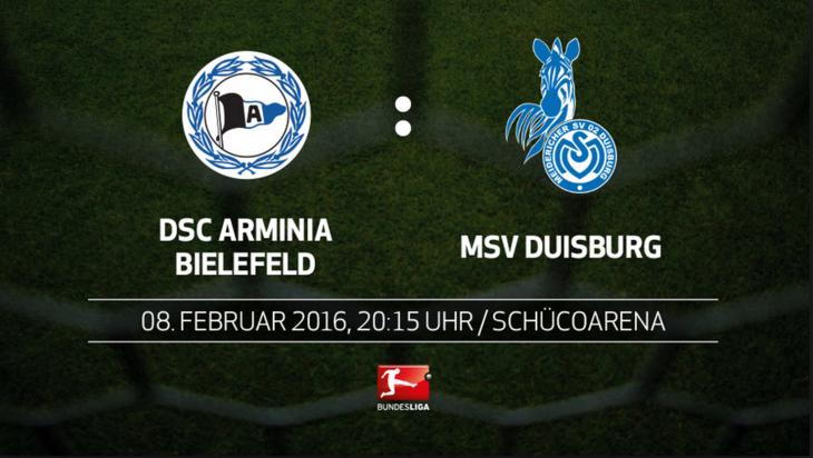 Arminia Bielefeld vs MSV Duisburg