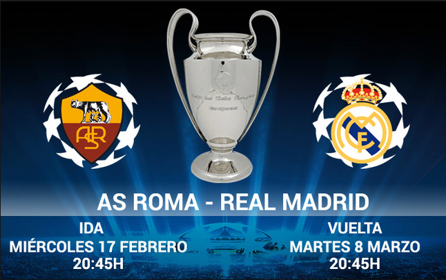 AS. Roma vs Real Madrid