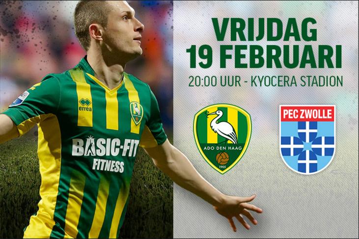 ADO den Haag vs PEC Zwolle