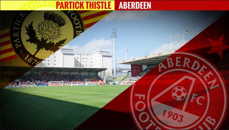 Partick Thistle vs Aberdeen