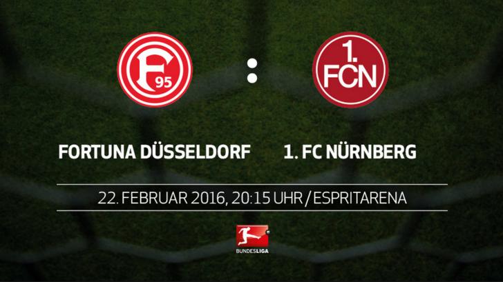 Fortuna Dusseldorf vs Nurnberg