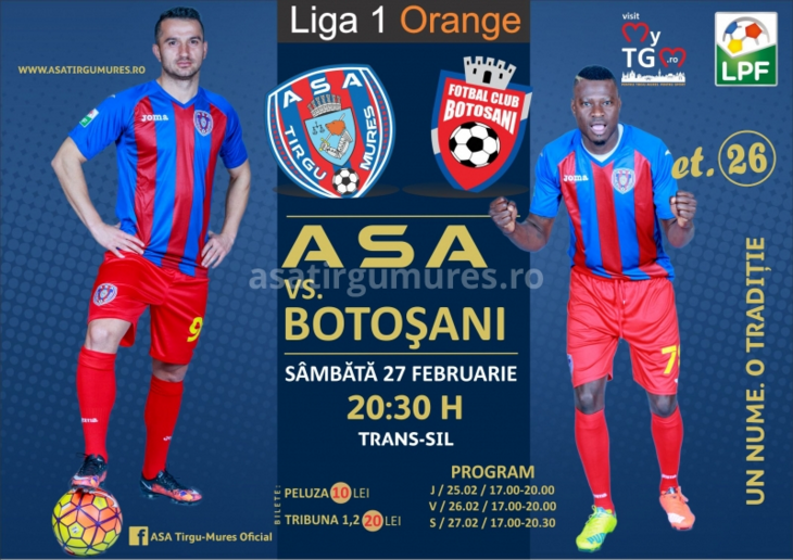 ASA Tg-Mures vs FC. Botosani