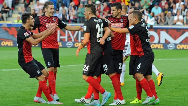 Freiburg vs FC. Kaiserslautern