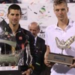 Novak Djokovic&Tomas Berdych, finala din 2013