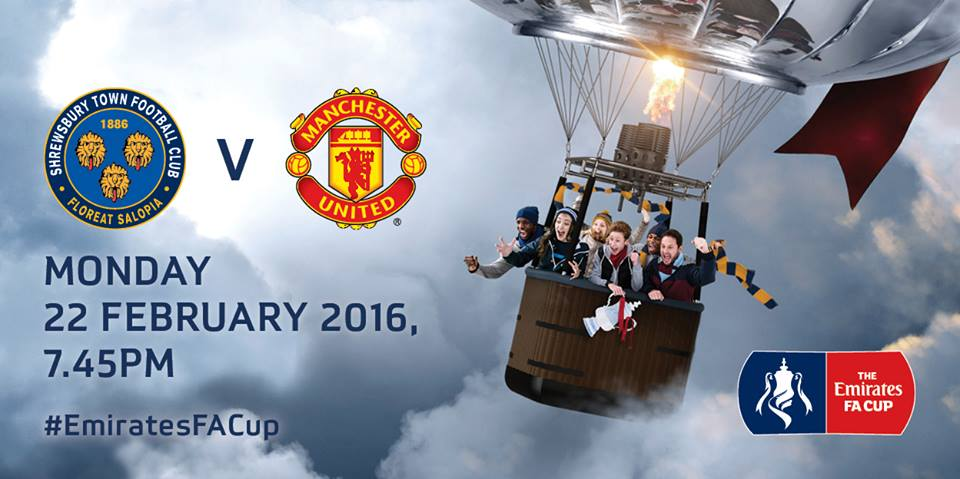 Shrewsbury  vs man utd