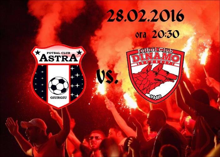 astra vs Dinamo