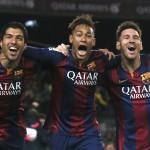 Suarez, Neymar, Messi-magicienii Barcei