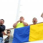 Fanii romani au sustinut-o pe Simona Halep pe toata durata turneului si a finalei