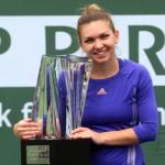 Simona Halep castigatoare la Indian Wells 2015