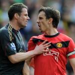 Carragher vs Gary Neville-2 legende pentru cele 2 cluburi