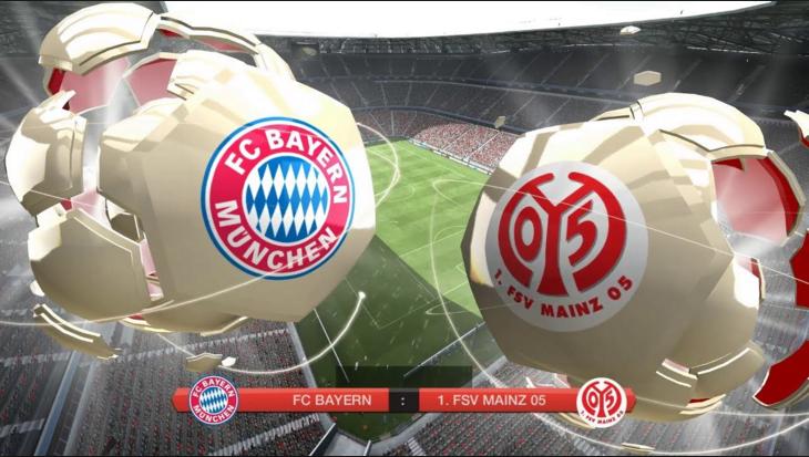 Bayern Munchen vs FSV Mainz