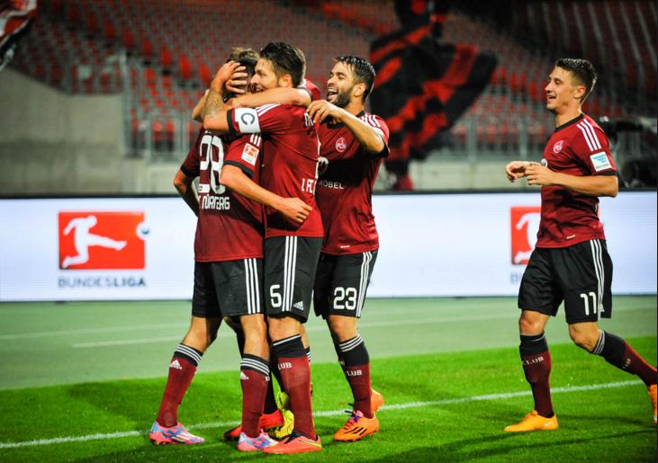 Nurnberg vs FC. Kaiserslautern