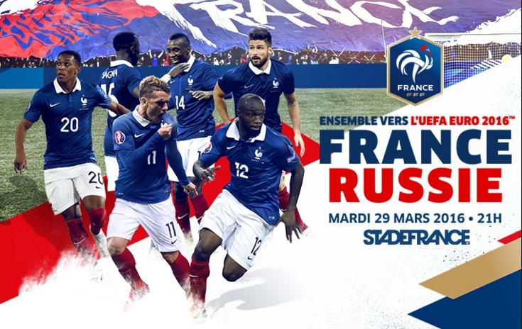 Ponturi pariuri fotbal Amicale - Franta vs Rusia