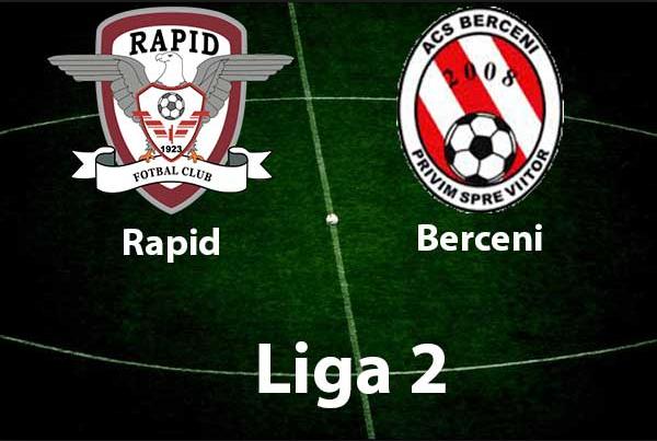 Ponturi pariuri fotbal Romania - Rapid Bucuresti vs ACS Berceni