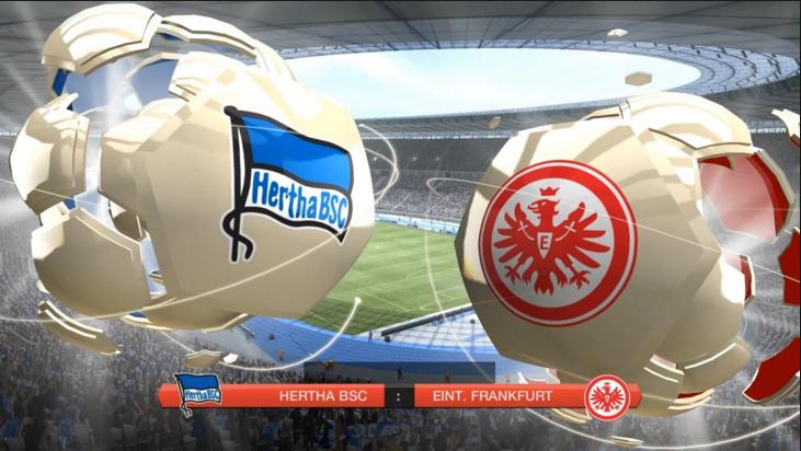 Hertha Berlin vs Eintracht Frankfurt
