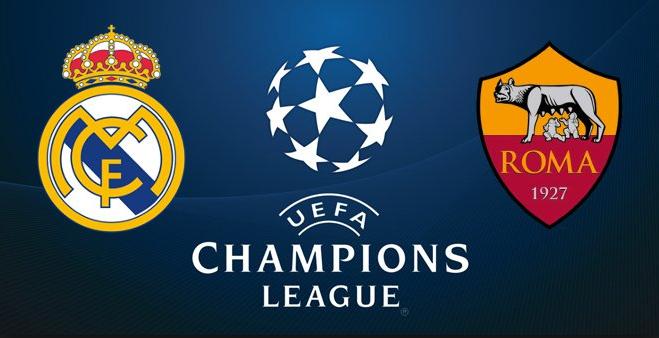Real Madrid vs AS. Roma