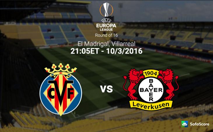 Villareal vs Bayer Leverkusen