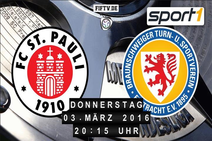 St. Pauli vs Eintracht Braunschweig