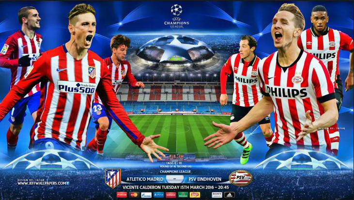 Ponturi pariuri fotbal UEFA Champions League - Atl. Madrid vs PSV