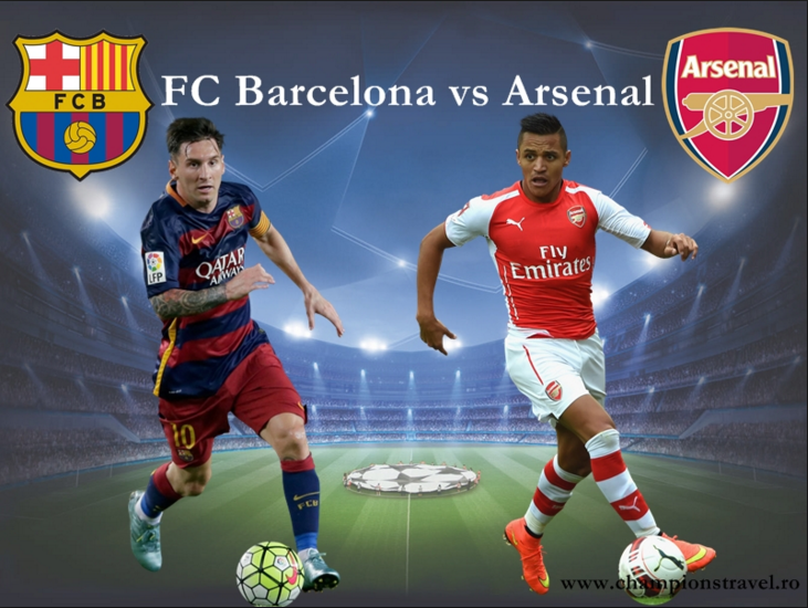 Ponturi pariuri fotbal UEFA Champions League - Barcelona vs Arsenal