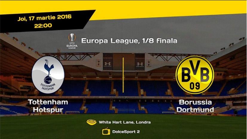 Ponturi pariuri fotbal Europa League - Tottenham vs Dortmund