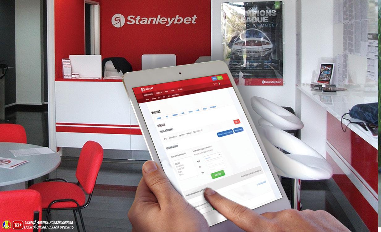 Cum depui bani in contul de parior la casa de pariuri Stanleybet