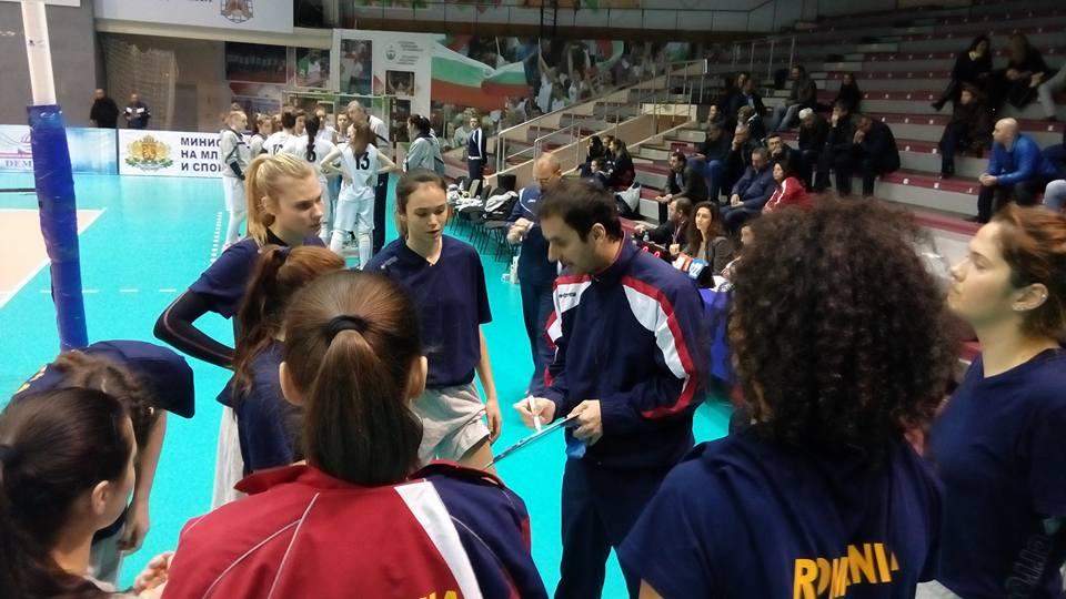 Romania U 19 volei feminin