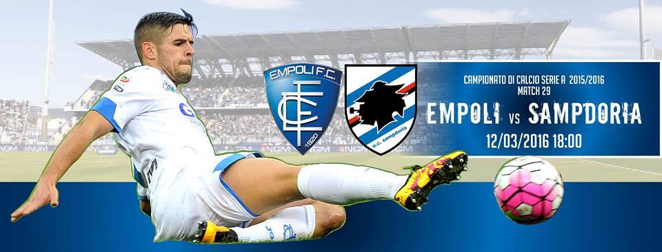 Ponturi pariuri fotbal Serie A – Empoli vs Sampdoria
