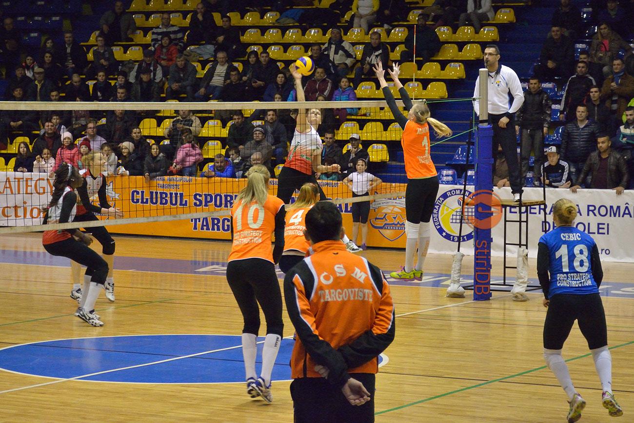 Duel la fileu, CSM Targoviste-Dinamo Bucuresti