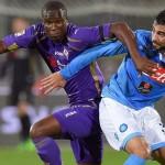 Babacar in meciul cu Napoli