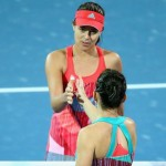 Simona Halep invinsa de Ana Ivanovic la turneul de la Dubai