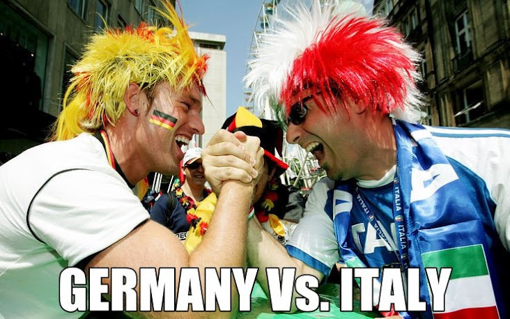Supercota pentru supermeciul Germania vs Italia