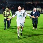 Marius Muşină- bucuria calificarii in sferturile cupei