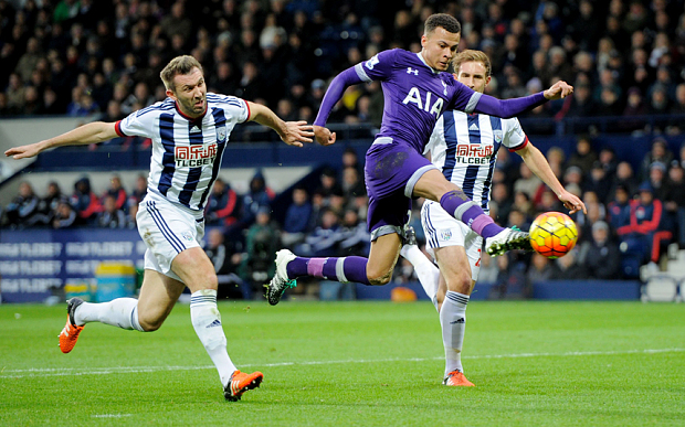 Barclays Premier League 2015/16 West Bromwich Albion v Tottenham Hotspur Hawthorns, The, Birmingham Rd, West Bromwich, United Kingdom - 5 Dec 2015