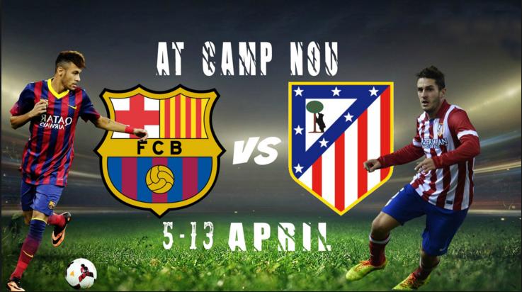 Ponturi pariuri fotbal UCL - Barcelona vs Atl. Madrid