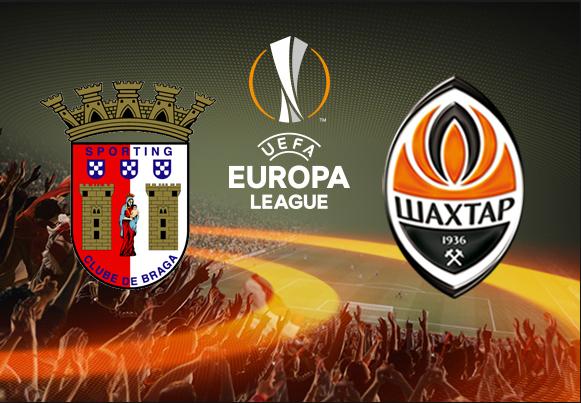 Ponturi pariuri fotbal Europa League - Braga vs Sahtior Donetk