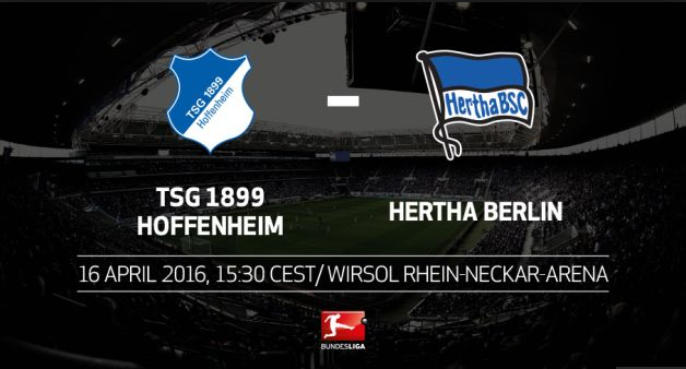 Ponturi pariuri Bundesliga - Hoffenheim vs Hertha Berlin